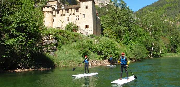 Stand Up Paddle gorges du Tarn